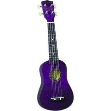 <strong>Diamond Head</strong> Soprano Ukulele with Purple Match Case