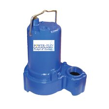 1/3 HP Sump/Effluent Submersible Pump with 7.5 Amps Automatic Operation