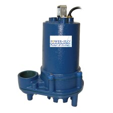 1/2 HP Effluent Submersible Pump with 11 Amps Automatic Operation