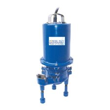 2 HP Grinder High Volume Submersible Pump with Double Seal 11 Amps