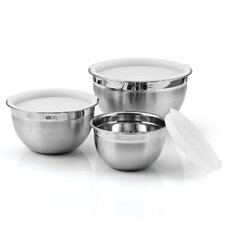 Cook N Home 6 Piece Mixing Bowl Set