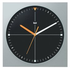<strong>Bai Design</strong> Square Quadra Modern Wall Clock