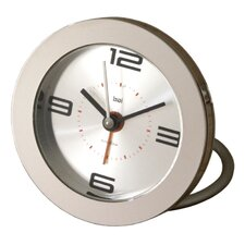 <strong>Bai Design</strong> Diecast Round Travel Alarm Clock