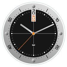 "<strong>Bai Design</strong> 7.68"" Timemaster Wall Clock"