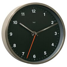 Designer Wall Clock in Helio Black