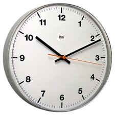 Lucite Wall Clock in Accuron White