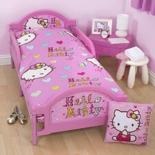 Hello Kitty Folk Toddler Bed Frame