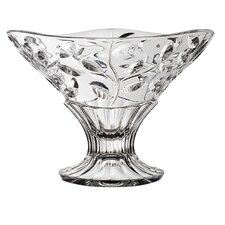 Laurus Crystal Round Pedestal Bowl