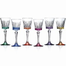 Timeless RCR Crystal Cordial Glasses (Set of 6)
