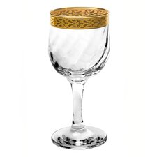 <strong>Lorren Home Trends</strong> Venezia White Wine Goblet (Set of 4)