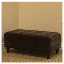 Deluxe Tufted Bedroom Storage Ottoman