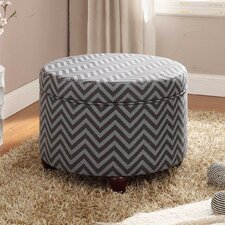 <strong>Kinfine</strong> Fashion Round Storage Ottoman