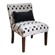 Fabric Slipper Chair