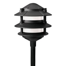 Cast Aluminum 3 Tier Landscape Path Light
