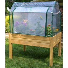 Eden Medium Raised Mini Greenhouse and Herb Garden