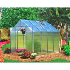 Monticello 8 x 8 ft. Premium Polycarbonate Commercial Greenhouse