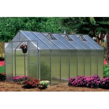 Monticello 8 x 16 ft. Premium Polycarbonate Commercial Greenhouse