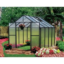 <strong>Riverstone Industries</strong> Monticello Quick Assembly Polycarbonate Greenhouse