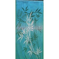 Bamboo Scene Curtain Single Panel