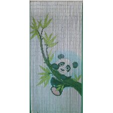 Panda Scene Curtain Single Panel