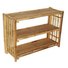 Natural Bamboo Shelf Table