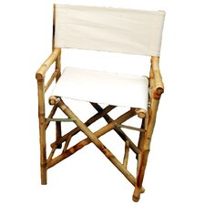 Low Bamboo Director Chair