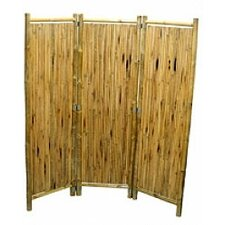 Natural Bamboo 3 Panel Screen