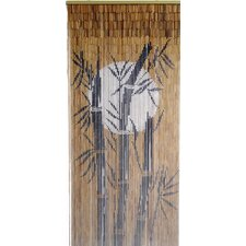 Bamboo Tree and Moon Curtain Single Panel