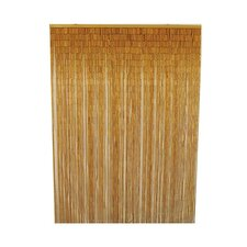 Natural Bamboo Curtain Single Panel
