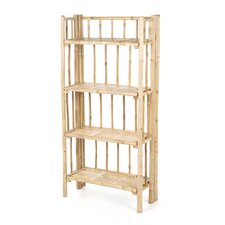 Natural Bamboo 4 Tier Shelf