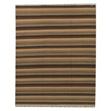 Neutral Multi Striped Rug