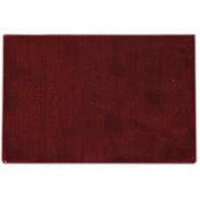 Dark Red Scatter Rug