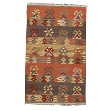 Neutral Multi All Over Geometric Rug