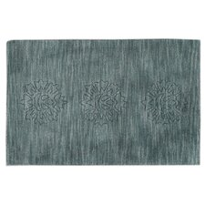 Light Blue Scatter Rug