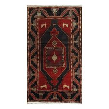 Kourd Multi-Colored Geometric Medallion Rug