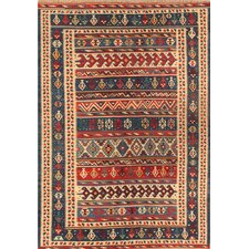 Kilim Blue Tribal Rug