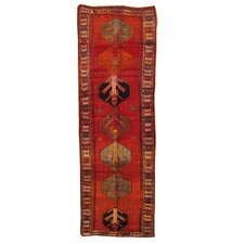 Kourd Brown Tribal Medallion Rug