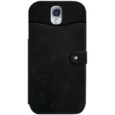 Samsung Galaxy S IV Modena L Premium Leather Wallet Case