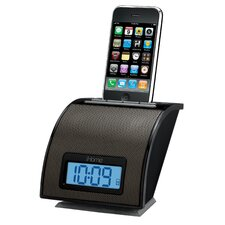iPod/iPhone Alarm Clock in Black