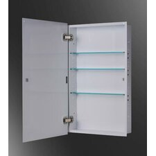 "Euroline 16"" x 26"" Surface Mounted Medicine Cabinet"