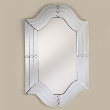 "Radiance 29"" H x 47"" W Wall Mirror"