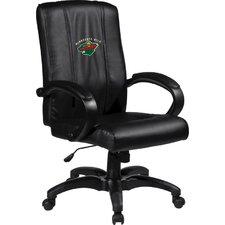 NHL Home Office Chair with Logo Panel