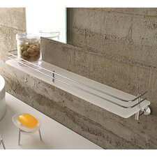 "<strong>Toscanaluce by Nameeks</strong> Riviera 3.3"" x 23.6"" Bathroom Shelf"