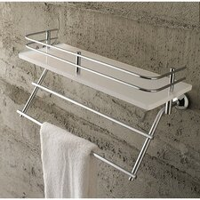 "<strong>Toscanaluce by Nameeks</strong> Riviera 12.99"" x 6.7"" Bathroom Shelf"