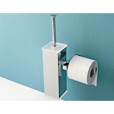 <strong>Toscanaluce by Nameeks</strong> Toilet Brush Holder with Toilet Paper Holder