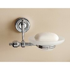 <strong>Toscanaluce by Nameeks</strong> Wall Mounted Satin Glass Soap Dish