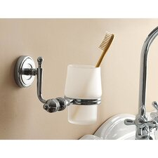 Wall Mounted Satin Glass Holder