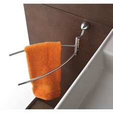 <strong>Toscanaluce by Nameeks</strong> Swing Arm Towel Rack with One Wall Mount