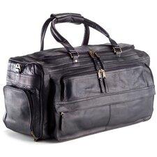 "Vachetta 19.5"" Leather Travel Duffel"