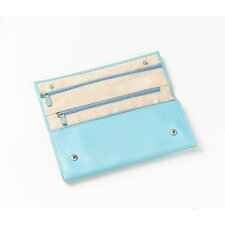 Napa Jewelry Roll and Organizer in Blue